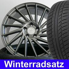 """18"""" KT17 Grey 225/40 Winter Reifen Radsatz für VW Golf 6 Variant 1KM"""