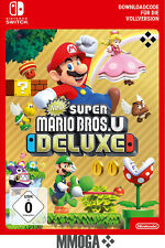 New Super Mario Bros U Deluxe - Nintendo Switch Download Code - [DE/EU]