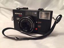 Konica C35 EF/Telémetro Cámara De Cine/38mm f2.8/gran condición/Sin Probar