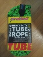 """Heavy Duty Proline Towable Tube Rope With Float, 60' 5/8"""", Green"""