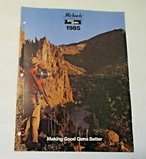 NOS VINTAGE 1985 UNCLE MIKE'S GUN ADVERTISING CATALOG ~ HOLSTERS SLINGS PARTS +