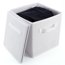 Boites de rangement gris sans marque pour la maison