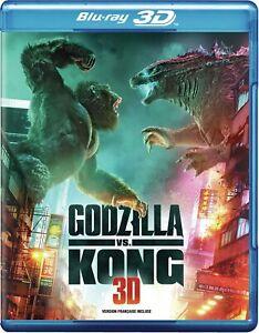 Godzilla vs. Kong (2021) Alexander Skarsgår (Blu-ray 2D/3D) BRAND NEW!!
