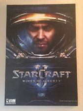 ***COLLECTOR'S ITEM***  Wallhang Canvas -- StarCraft II: Wings of Liberty