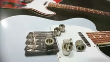 (6)  Gotoh 60s Style Tele Body Bushings Ferrules For Fender Telecaster Nickel