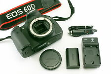 Very Good! Canon EOS 60D 18.0MP DSLR Camera Black Body From Japan!