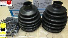 Inner & Outer CV Axle Boot Kit for Chevy K2500 Pickup 1988-1997 8600 lb GVW 4x4