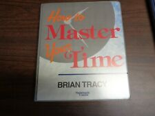 How To Master Your Time Brian Tracy  6 Audio Cassettes