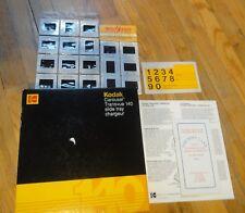 Kodak Carousel Transvue 140 Slide Tray W/Color Slides