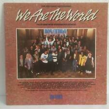 'WE ARE THE WORLD' USA FOR AFRICA LP Vinyl - USA 40043 INSERT GATEFOLD