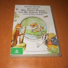 Beatrix Potter The Tale Of Mrs Tiggy Winkle Mr Jeremy Fisher & Other Stories DVD