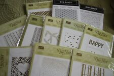 Stampin Up Textured Impressions Embossing Folder - NIP - You Choose