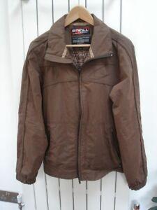"Men`s Brown ""O`NEILL"" Jacket BRAND NEW (Size MEDIUM)"