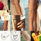 Cool Boho Gypsy Bohemia Turquoise Upper Arm Chain Cuff Armband Armlet Bracelet