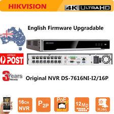 HIKVISION NVR DVR DS-7616NI-I2/16P 16CH 16 POE 4K H.265 For HIKVISION IP Camera