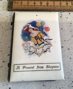 Vintage Needle Case, Vintage Souvenir Needle Case, Skegness, Lovely Picture
