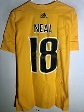 adidas  NHL T-Shirt Nashville Predators James Neal Gold sz L