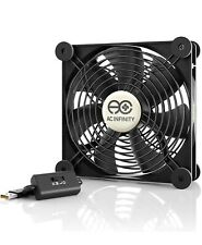 More details for ac infinity multifan s4, quiet 140mm usb fan, ul-certified for receiver dvr