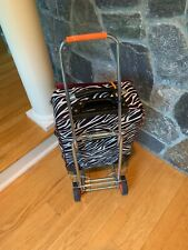 collapsible luggage trolley