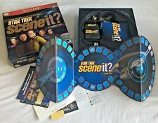 Official Screenlife Games Scene It? Deluxe Star Trek Edition -The DVD Board Game