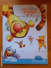 LA PELICULA DE TIGGER - BIBLIOTECA INFANTIL EL MUNDO Nº 49 - DISNEY (B)