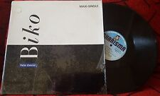 "PETER GABRIEL **Biko** ORIGINAL 1987 Spain 12"" Single ON CHARISMA LABEL"