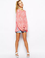 NWT Wildfox STAR CLOUDS LENON SWEATER in Neon Sign in size S