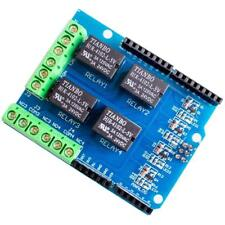 NEW 4 Channel Relay Module Arduino Four Channel Relay Shield for Arduino UNO R3
