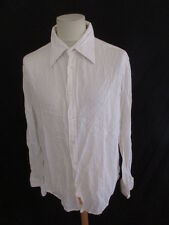 Chemise Replay Blanc Taille XL à - 66%
