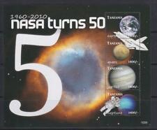 TANZANIA 2010 SPACE STAMP NASA TURNS 50  SS MNH - SP207