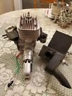 3 W 75 rc engine with a custom Keleco exhaust system & engine mount, low time