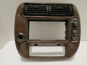 1995-2001 Ford Explorer Mercury Mountaineer Radio Dash Trim Bezel 1L2X3504302BD