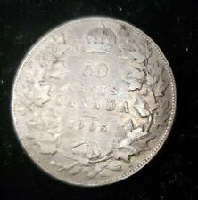 Canada 1905 Silver Half Dollar Coin