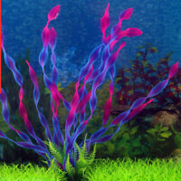 Plastic Grass Aquarium Water Weed Ornament Underwater Tank Plant Gift Fish