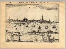 Wismar - Rostock - Kupferstich - Petrus Bertius 1616
