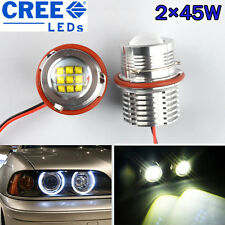 2×45W (90W) Angel Eyes CREE LED Standlicht BMW E87 E39 E60 E61 E63 E64 E65 X3 X5
