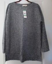 Jones New York Sport ~ Over Size ~ Long Sleeve Black & Ivory Sweater ~ NWT