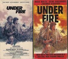 VHS: UNDER FIRE...NICK NOLTE-GENE HACKMAN-JOANNA CASSIDY