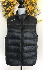 Ralph Lauren RLX Men's Black Puffer Vest Down Ski Men's Sz L