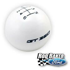 Ford Performance 2015-2018 Ford Mustang Manual GT350 6-Speed White Shift Knob
