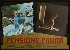 fotobusta  PENSIONE PAURA FRANCESCO BARILLI LEONORA FANI   LUC MERENDA HORROR