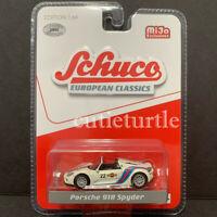 Schuco Porsche 918 Spyder 1:64 Limited 2400 Pieces Martini Racing #22 White 8700