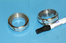 Alu fork seal retainers Roadholder forks outer springs Manx style Triton Norton
