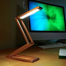 Portable LED Foldable Eye Care Table Lamp USB Rechargeable Desk Lamp Light
