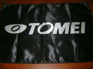 "Tomei Logo 20x30"" Flag Banner JDM Show Garage Racing Shop Decor Nissan GTR Nismo"