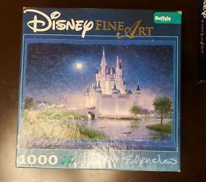 "DISNEY FINE ART 1000 Piece Puzzle ""Cinderella's Grand Arrival"" PETER ELLENSHAW"