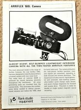 ARRI 16BL sales leaflet - mid to late 1960's, excellent condition - VERY RARE