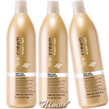 Pro-Age Shampoo 3 x 1000ml Argan-Age Ice Cream Inebrya ® Argan Oil Suflower