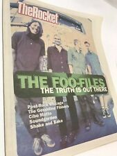 The ROCKET MAY 1996 Seattle Music Magazine FOO Fighters Soundgarden Ministry