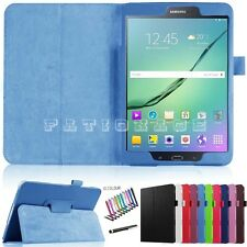 "Premium PU Leather Stand Case Cover For Samsung Galaxy Tab S2 9.7"" T810 T815"